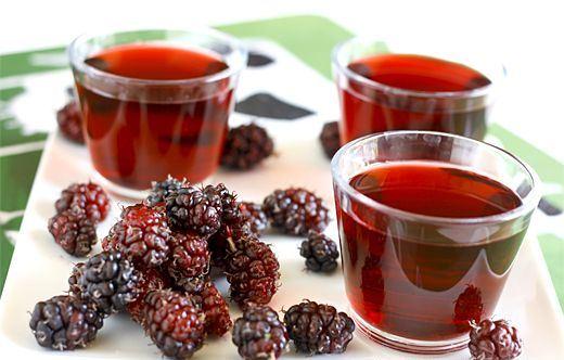 Польза сока шелковицы