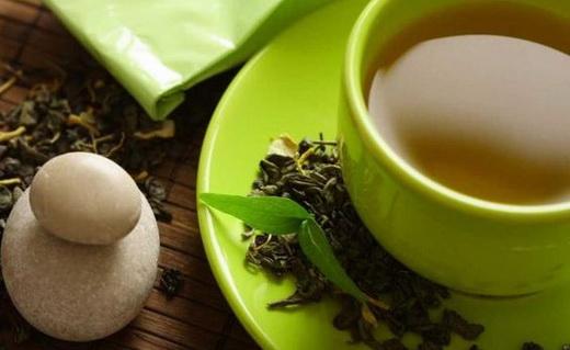 Пьем зеленый чай